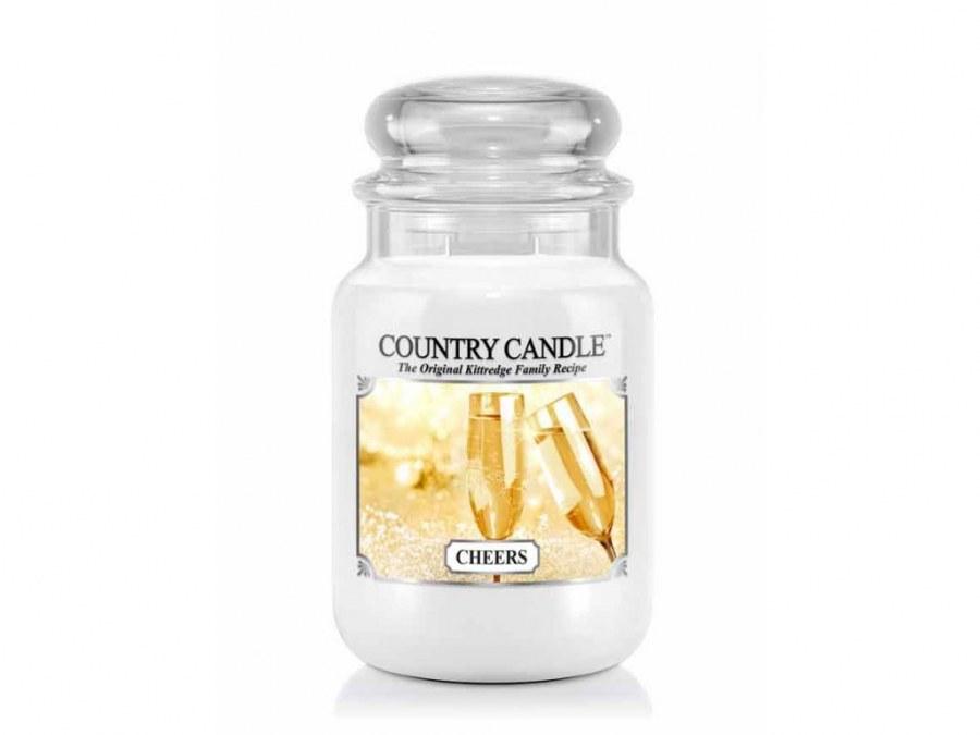 Velká svíčka Country Candle Cheers