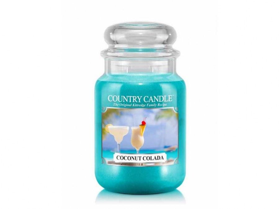 Velká svíčka Countrry Candle Coconut Colada