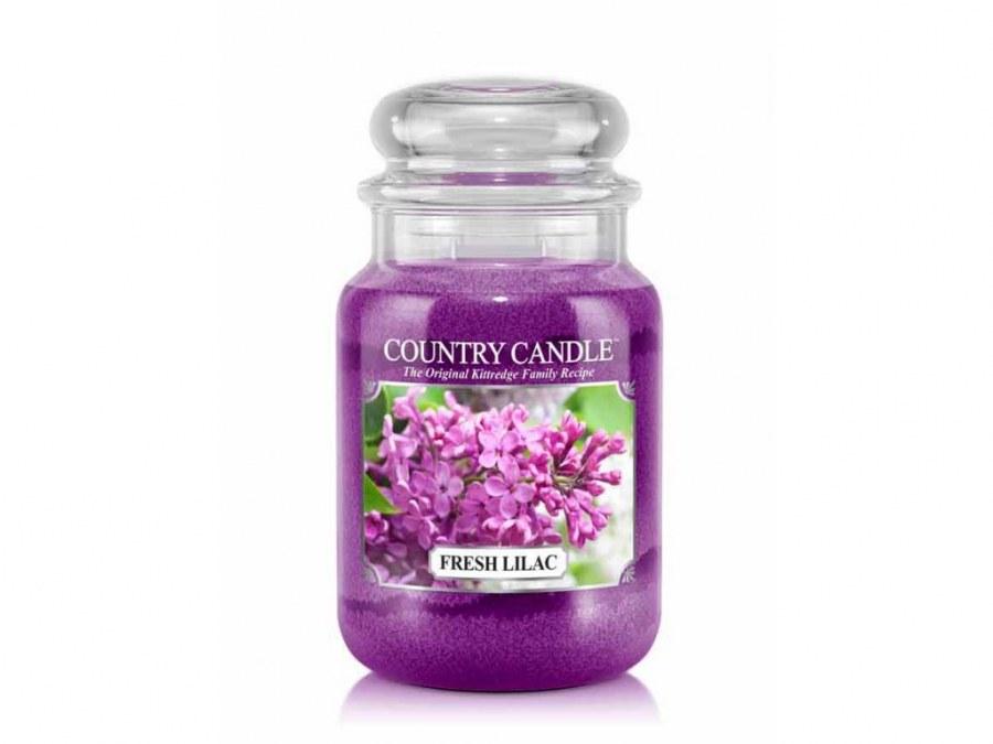Velká svíčka Country Candle Fresh Lilac