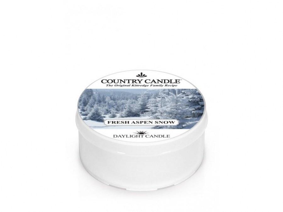 Votivní svíčka Fresh Aspen Snow