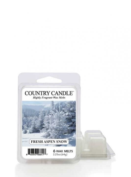 Vosk Country Candle Fresh Aspen Snow