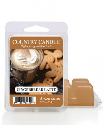 Vosk Country candle gingerbread latte